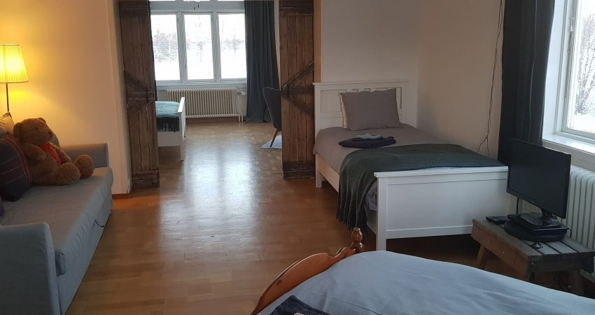 Accessible accommodation swedish lapland