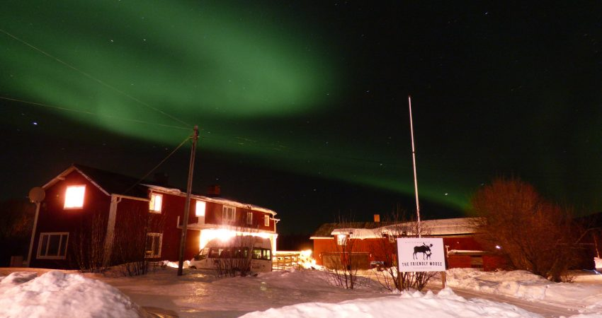 northern lights experience in lapland