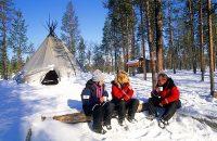 Visit Santa in Lapland